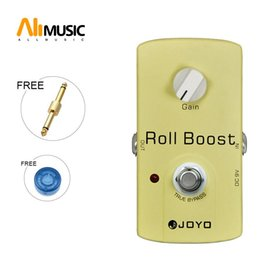 acoustic pedal NZ - JOYO ROLL BOOST JF-38 Guitar Effects Booster Pedal Free connector MU0027
