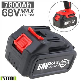 $enCountryForm.capitalKeyWord NZ - VOTO Battery Universal 68V Max 7800mAh Li-ion Rechargeable Battery with Flat Push Type and 2 Slots for Impact Electric Wrench