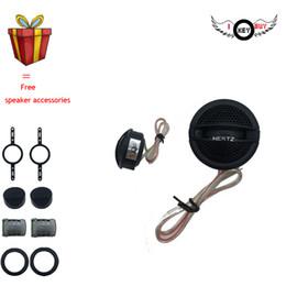 $enCountryForm.capitalKeyWord Australia - I Key Buy 1 Pair 200W 4ohm 1 Inch Dome Tweeter Kit High sensitivity Smooth Small Treble Head Louderspeaker with Free Gift car