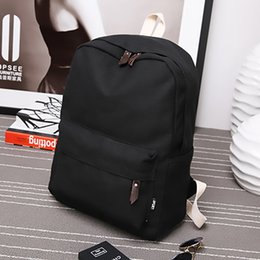 New Backpacks Australia - Solid Color Women Backpack Teenager Girl Female Backpack New Travel Bag Leisure Student School Shoulder Bag For Women 2019 Y19051405