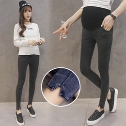$enCountryForm.capitalKeyWord Australia - Trousers For Pregnant Women Clothes Elastic Waist Maternity Pants Abdominal Pregnancy Jeans Stretch Leggings Clothing Maternidad