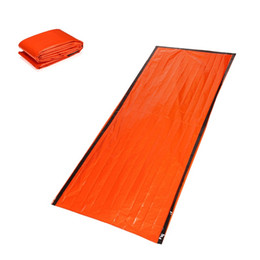 Buy Cheap Outdoor Emergency Sleeping Bag Radiation Insulation Insulation And Life Saving Sleeping Bag Pe Orange At9040