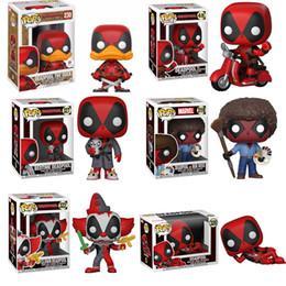 $enCountryForm.capitalKeyWord Australia - Funko POP Marvel Super Hero DEADPOOL Brinquedos Action Figure Toys for Friend Children Birthday Gift Collection For Movie Fans