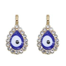 $enCountryForm.capitalKeyWord UK - 50pcs New Turkey Evil Eye Necklace Bracelet Pendant Accessories Blue Fashion Jewelry Protection Men's and Women's Handmade wholesale