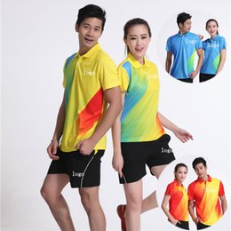 Sportswear T Shirt Badminton Australia - D6 Butterfly Badminton Suit Sportswear for Men & Women Short Sleeve T-shirt Leisure Running Basketball casual wear Table tennis H16307