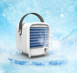 Wholesale Evaporative coolers Portable air cooler Easy Way to Cool Any Space Air Conditioner Fan Device Home Office Desk With 2 Water Tanks
