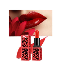 $enCountryForm.capitalKeyWord Australia - New Rose Lady lipstick matte waterproof velvet lipstick 6 color sexy red brown makeup dumb beautiful lips