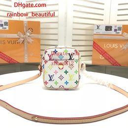 $enCountryForm.capitalKeyWord Australia - 2019 brand fashion bags mini Color letter pattern print Genuine Leather bag top quality handbags crossbody bag handbags purses women GR-3