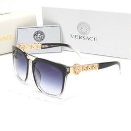 Clear Resin Coating Australia - style italy brand medusa sunglasses half frame women men brand designer uv protection 2097 clear lens and coating lens sunwear 426
