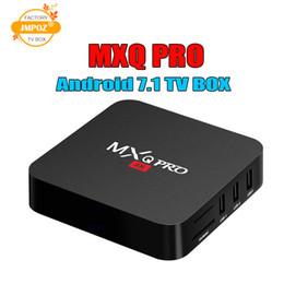 Mini Pc Google Tv Australia - MXQ Pro 4K Android 7.1 TV Box Amlogic S905W RK3229 Quad Core 64bit Smart Mini PC 1G 8G Support Wifi 4K H.265 Streaming Google Media Player