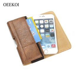 leather belt holster case NZ - wholesale Stone Pattern Belt Clip Pouch Holster Case for Wiko View 3 Lite