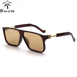 Famous brand sunglasses online shopping - The Most Famous High Quliaty Rectangle Sunglasses Men Brand Designer Mens Coating Sun Glasses oculos de sol masculino lunettes