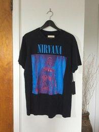 Medo de Deus LA Resurrected Rock Tee Tamanho L Nirvana Sliver RSVP Release 1 venda por atacado