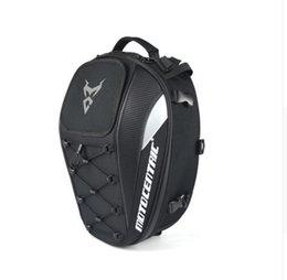 Top Motorcycle Helmets Australia - MOTOCENTRIC Motorcycle Back seat bags Top Case Motorbike Tail Bag Moto Racing Helmet Backpack 8