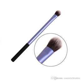 Simple makeup blue eyeS online shopping - Mybasy high quality Single makeup brush diamond Simple atmosphere small waist Eye makeup tools Blue black
