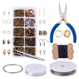 $enCountryForm.capitalKeyWord Australia - Jewelry Accessories Ribbon Ends Lobster Claw Earring Hooks Screw Eye Pin Open Jump Rings Headpins Diy Hand Made Jewelry Marking