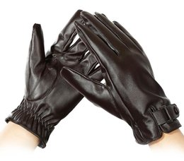$enCountryForm.capitalKeyWord Australia - Men's Winter Outdoor Skid-proof Sports Cycling Motorcycle Waterproof Leather Gloves Touch Screen Thickening, Warming, Furring and Wind-proof