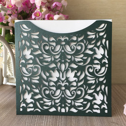 $enCountryForm.capitalKeyWord NZ - luxury lilies and rose laser out castle wedding invitation birthday party dinner envelop greeting marriage annivery card