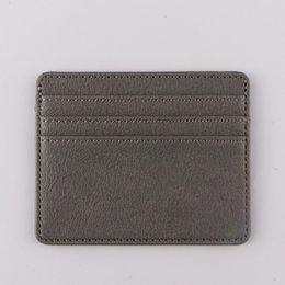 Wholesale Short Fashion Card Holders Sale New Style men women Cheap White Black Wallet Size