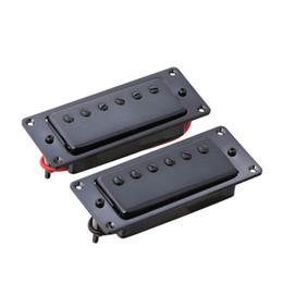 $enCountryForm.capitalKeyWord Australia - 2PCS Sealed Bridge and Neck Pickup Mini Humbucker for LP Guitar Black