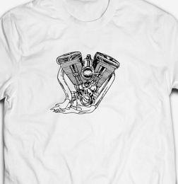American Steel Mens Biker T-Shirt Motorbike Motorcycle Engine Eagle Bike MC