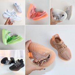 $enCountryForm.capitalKeyWord Australia - Black White Running baby boys girls Shoes Zebra Blue Tint Core Black Red high quality Sneakers Kids Size 28-35