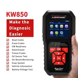 car code obd Australia - Konnwei kw850 ODB2 Automotive Scanner Full Function Car Diagnosis OBD Engine Code Reader Auto Diagnostic Better Than Autel AL519
