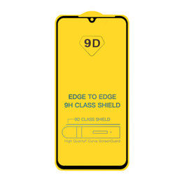 moto x screen protectors UK - 9D Full Cover Tempered Glass Full Glue Screen Protector For MOTO E5 Plus G6 Play G7 Power G8 E6 P40 One Action Zoom Macro E6S