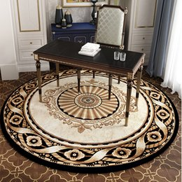 $enCountryForm.capitalKeyWord Australia - Modern 240CM Round Carpet For Living Room Home Bedroom Rugs And Carpets Computer Chair Floor Mat Study Dinning Restaurant Carpet
