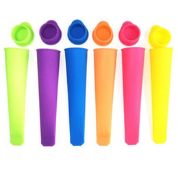 push up ice mold Australia - 20 cm long silicone ice pop maker Push Up Ice Cream Jelly Lolly Pop For Popsicle Silicone ice pop mold mould