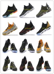 Lebron Shoes Canada - wholesale 2019 new 16s equality basketball shoes for men james sneakers watch the throne king oreo new-lebron 16 equality szie 40-46 v11