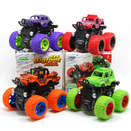 $enCountryForm.capitalKeyWord Australia - Inertial four-wheel drive vehicle shock absorbers simulation toys stunt swing car model interior decoration