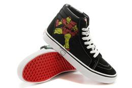 Van Shoes NZ - New Vans canvas low to help men s shoes VANS black Avengers  League 667c1f435a97