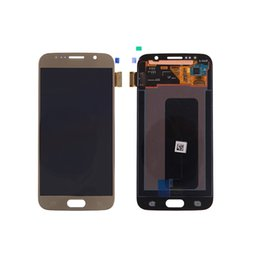 cell phone display repair Canada - Touch screen Digitizer replacement for s6 lcd screen display Cell Phone Touch Panels supper amulet display cell phone LCD repair touch glass