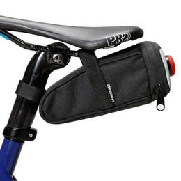 Bike Seats Red Australia - Bicycle Saddle Bag Waterproof Mtb Bike Rear Bag With Tail Lamp Light Road Bike Cycling Rear Seat Tail Bags