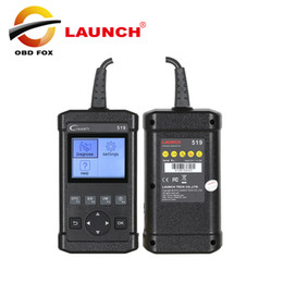 Mitsubishi Obdii Tools NZ - LAUNCH Creader 519 OBD2 Automotive Scanner OBDII Diagnostic-tool as Autel AL519 CR5001 PK creader VI 6 Free shipping