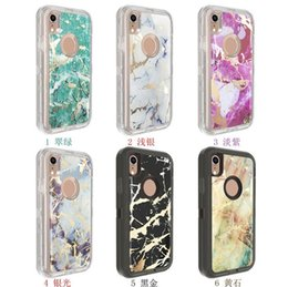 $enCountryForm.capitalKeyWord Australia - Hot Sale High Quality Cell Phone Crystal Cover factory Marble Design Robot Shockproof Armor Defender Case for iPhone Xs max