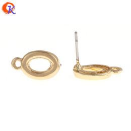 Oval shape earrings online shopping - MM Jewelry Accessories Earring Stud Hollow Oval Shape Zinc Alloy DIY Parts Hand Made Earring Findings