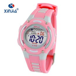 Bright Blue Watches Australia - Colorful Digital Sports Multifunctional Watch With Cold Light Cheap Fancy Bright Color Soft Plastic Digital Kids Sport Watch