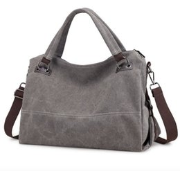 Canvas Zippers Australia - Women Bags Rushed Zipper Solid Soft Bolsos Mujer Ms. Bag Spring New Retro Canvas Wild For Commuter Mobile Messenger