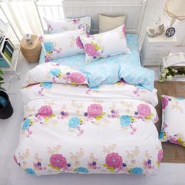 $enCountryForm.capitalKeyWord UK - Bedding Sets Geometric Pattern Bed Sheet Children Student Dormitory Bed Linings Cartoon 3 4pcs Pillowcases Cover Set
