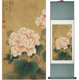 chinese flower decorations Canada - Hibiscus Mutabilis Linn. Flowers Painting Chinese Traditional Art Painting Home Decoration Paintings No.32207