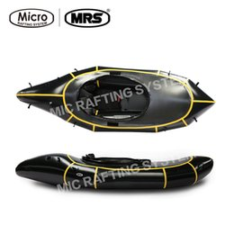 Wholesale MRS Micro rafting systems Alligator S boat ultra light ship boat black inflatable kayak