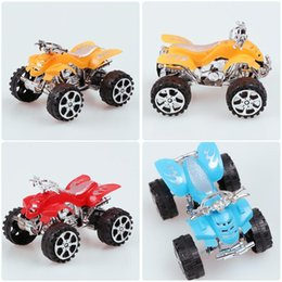 toy plastic motorcycles Canada - Plastic Mini Beach Motorcycle Model Toy Boy Simulation Car Motor Model Toy Kids Children New Year Gift Random Color