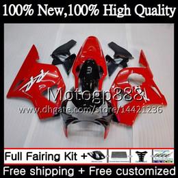 Cbr 954 Bodywork Australia - Body For HONDA CBR900RR CBR 954 RR CBR900 RR CBR954RR 02 03 41PG16 CBR954 RR CBR 900RR CBR 954RR Factory red 2002 2003 Fairing Bodywork