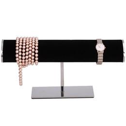 $enCountryForm.capitalKeyWord UK - High Grade Boutique Stainless Steel Bracelet Display Rack Necklace Watch Jewelry Rack Watch Display Stand Storage Hanging Hook