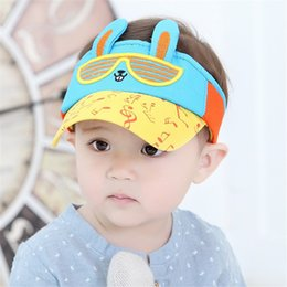 New Cool Boy Baby Infant Summer Visors Rabbits Caps Sun Hats Girls Kids Sun  Caps Beach Hats 9dd2e7caa0f