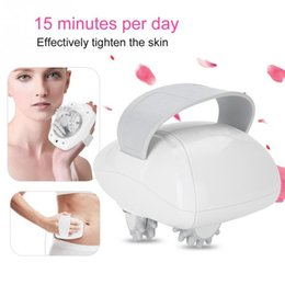 electric fat massager NZ - New Electric Face Fat Burning Massager Roller Anti-cellulite Rechargable Massaging Body Slimming Weight Loss Machine