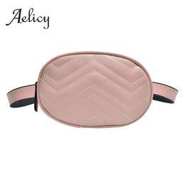 $enCountryForm.capitalKeyWord Australia - Aelicy Women Belt Bag High Quality Lady Crossbody Bag Zipper Oval Leather Chest Female Small Fashion Waist Pack for lady