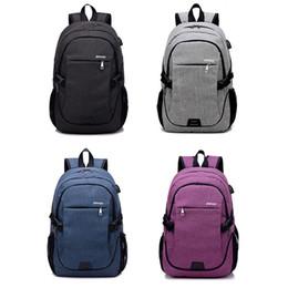 Train Usb Australia - New Men Women USB Backpack Shoulder Messenger Bag High Capacity Male Outdoor Sports Running Travel Waterproof Training Bags
